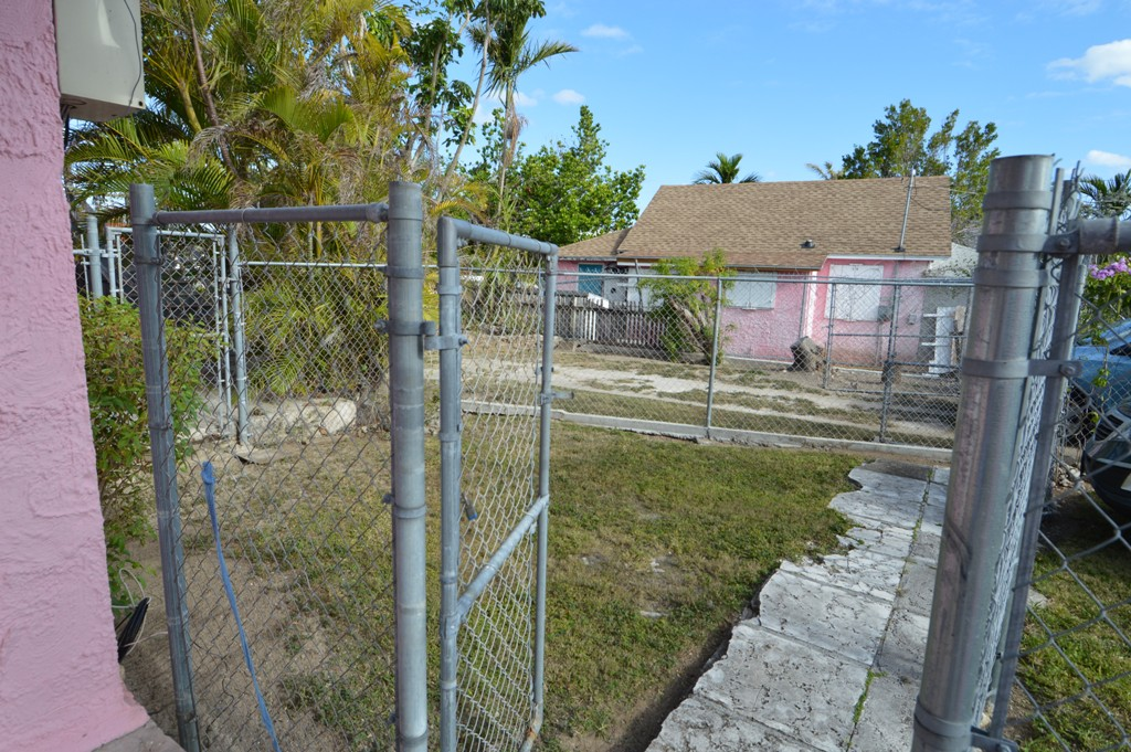 fenced space